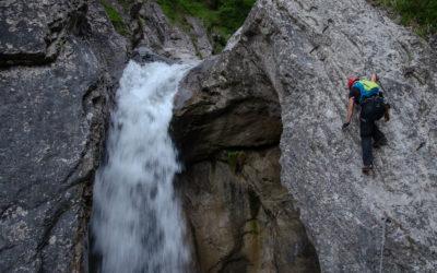 Pirknerklamm Klettersteig wird saniert