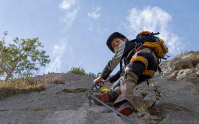 Crazy Eddie Klettersteig | Rockweb neue Variane