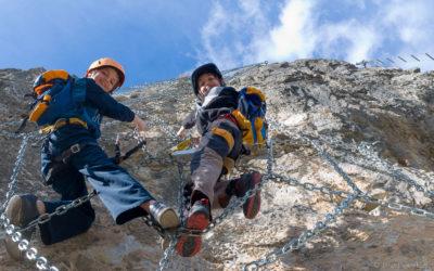 Crazy Eddie Klettersteig | Rockweb und Panorama