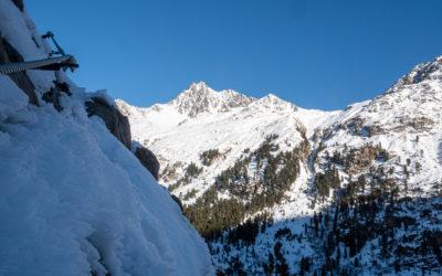 Jänner 2021 | Winterbegehung Holderli Seppl Klettersteig im Kaunertal