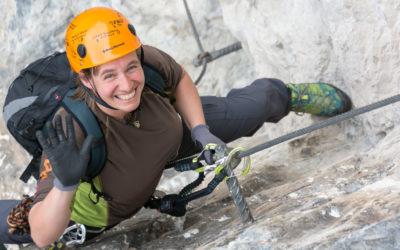 März 2021 | Steinwand Klettersteig / Arzl im Pitztal / 2014