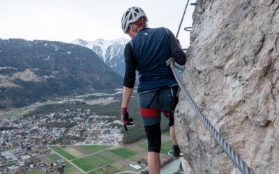 April 2021 | Geierwand Klettersteig / Magerbach-Haiming / Ostermontag