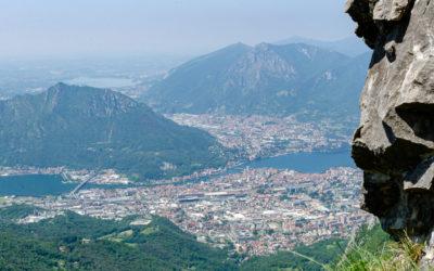 Juni 2021 | Klettersteig am Comer See | Ferrata Gamma al Resegone 2013