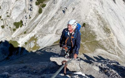September 2021   WANK Klettersteig   Obsteig, Tirol