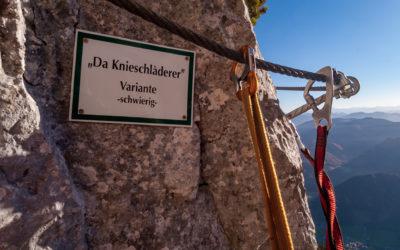 Oktober 2021   s'Schuasta Gangl   Waidring / Steinplatte, Tirol
